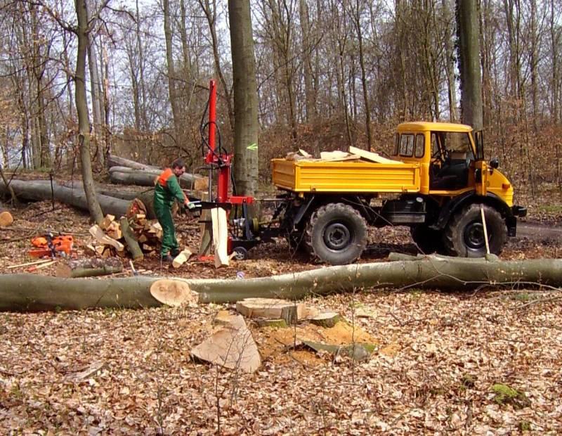 unimog mb-trac wf-trac pour utilisation forestière dans le monde Holzma11