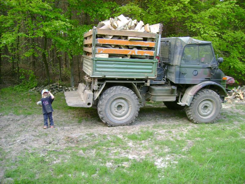unimog mb-trac wf-trac pour utilisation forestière dans le monde K800_212