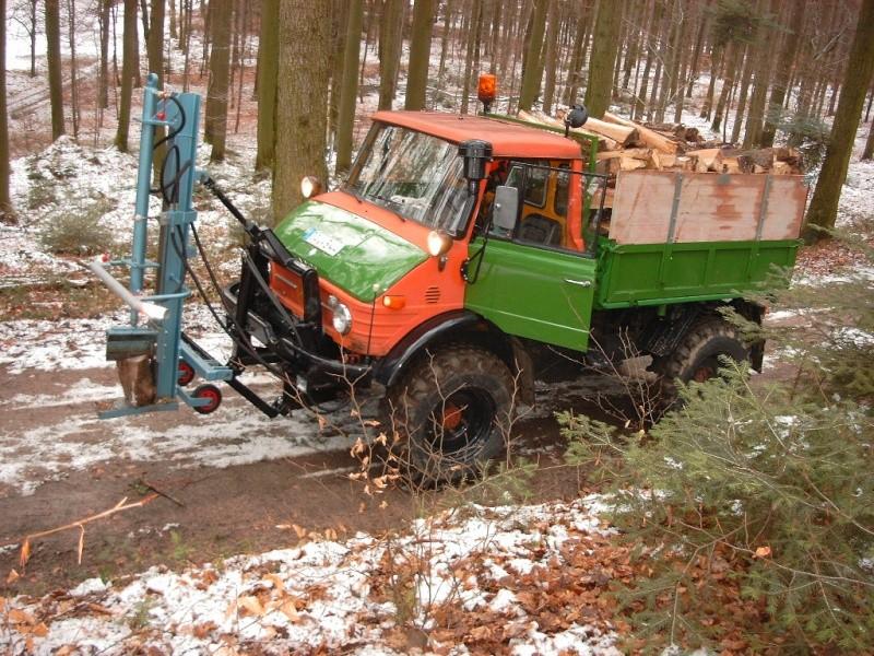 unimog mb-trac wf-trac pour utilisation forestière dans le monde Simg0011