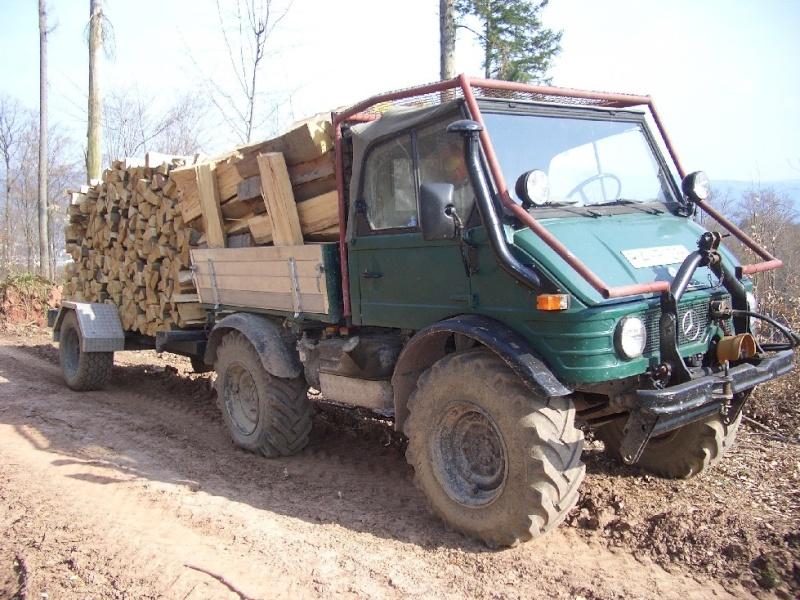 unimog mb-trac wf-trac pour utilisation forestière dans le monde Unimog12