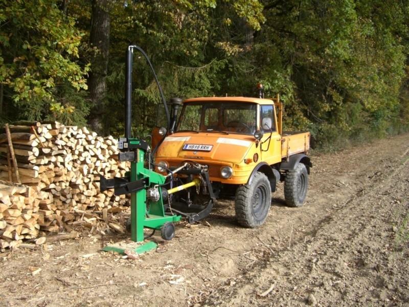 unimog mb-trac wf-trac pour utilisation forestière dans le monde Unimog14