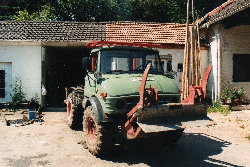 unimog mb-trac wf-trac pour utilisation forestière dans le monde Unimog21