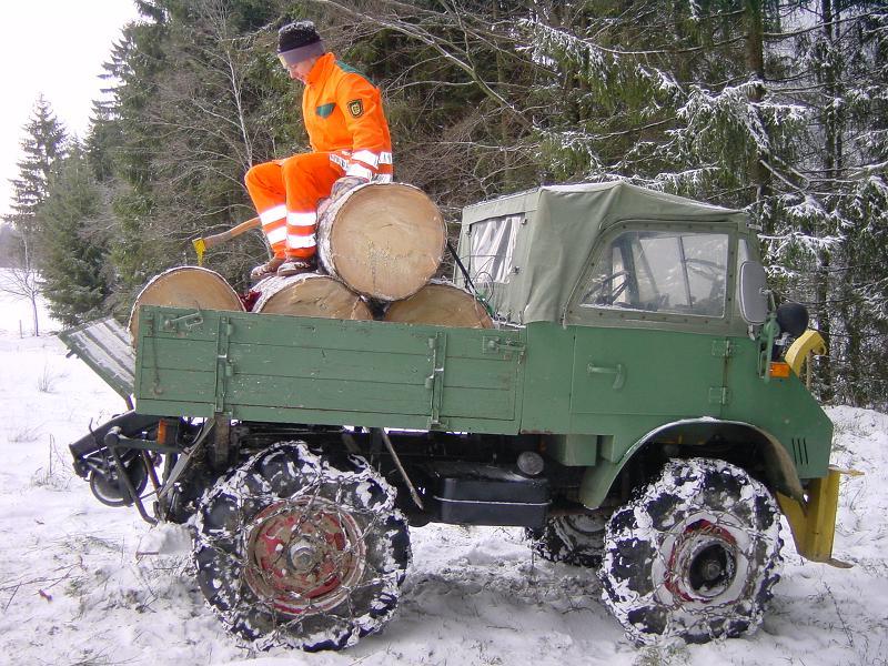 unimog mb-trac wf-trac pour utilisation forestière dans le monde Upload10
