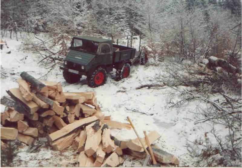 unimog mb-trac wf-trac pour utilisation forestière dans le monde - Page 2 Wald610