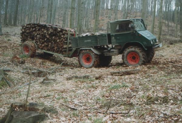unimog mb-trac wf-trac pour utilisation forestière dans le monde - Page 2 Wald710