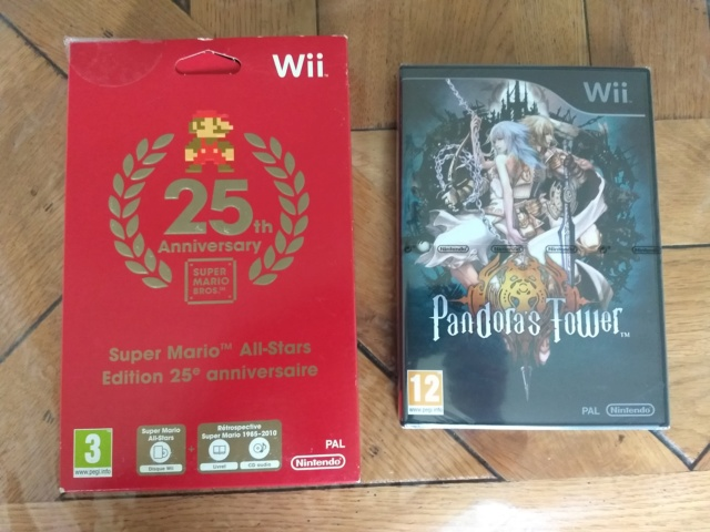 [VDS] Persona Q 3DS FR, Mario All star et Pandor'as Tower Neuf wii Img_2092