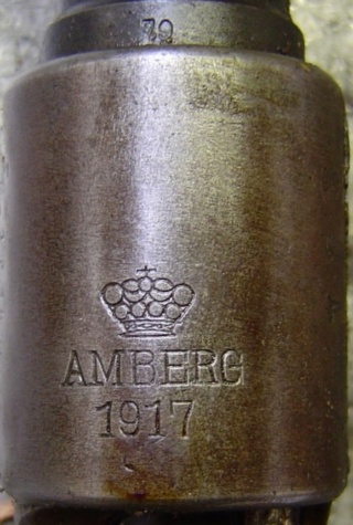G98 : marquages de boitier Amberg13