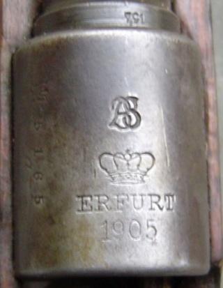 G98 : marquages de boitier Erfurt11