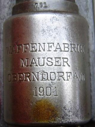 G98 : marquages de boitier Mauser11