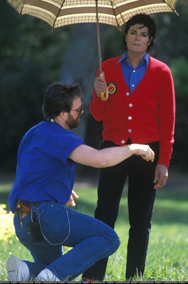 Photos Making of des clips de MJ ! Making13