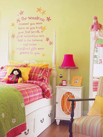 Chambre d'enfant romantique et douce !! P_100110