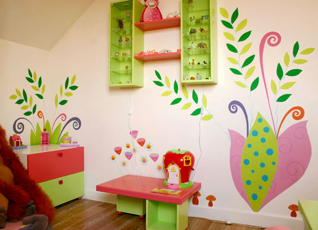 Chambre d'enfant romantique et douce !! Sabine13