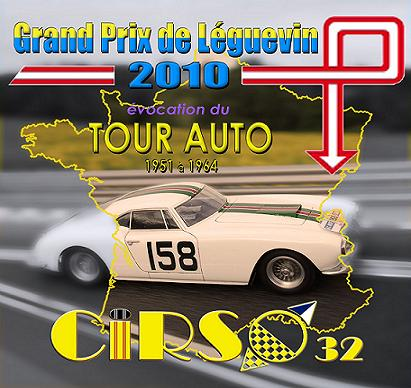 "GPL2010: les circuits de la course d'endurance 12h ""evocation Tour Auto"" Affich10"
