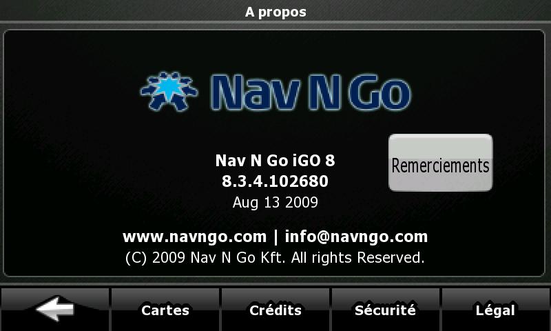 igo8 - IGO8 et le HD2 Screen13