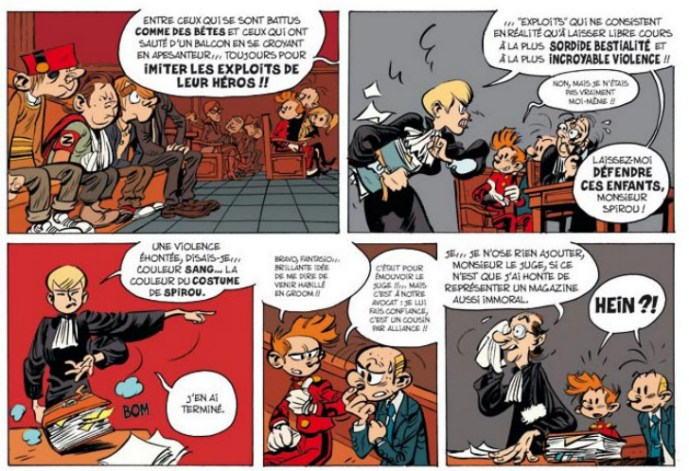 Spirou et ses dessinateurs Griffe11