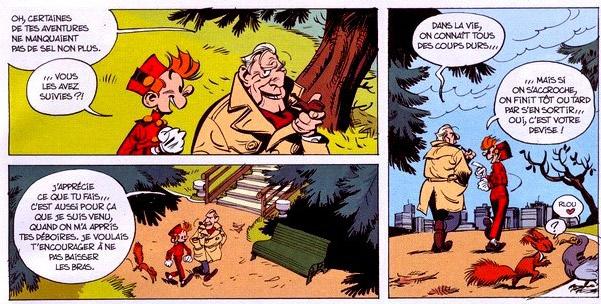 Spirou et ses dessinateurs Griffe12