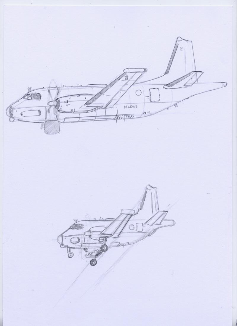 Coté carton coté cartoon : Le Breguet Atlantic Avions10