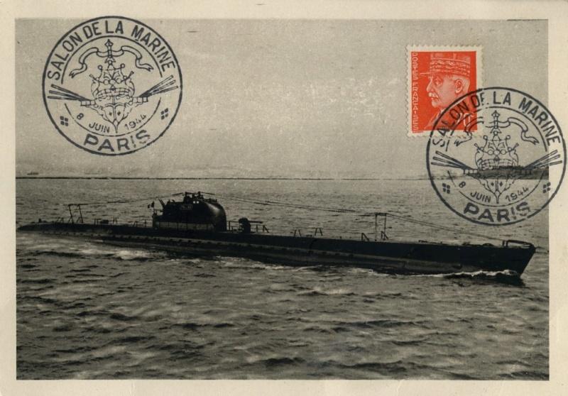 [ Divers - Les classiques ] Sous-marin La Minerve 1941 Pallas11