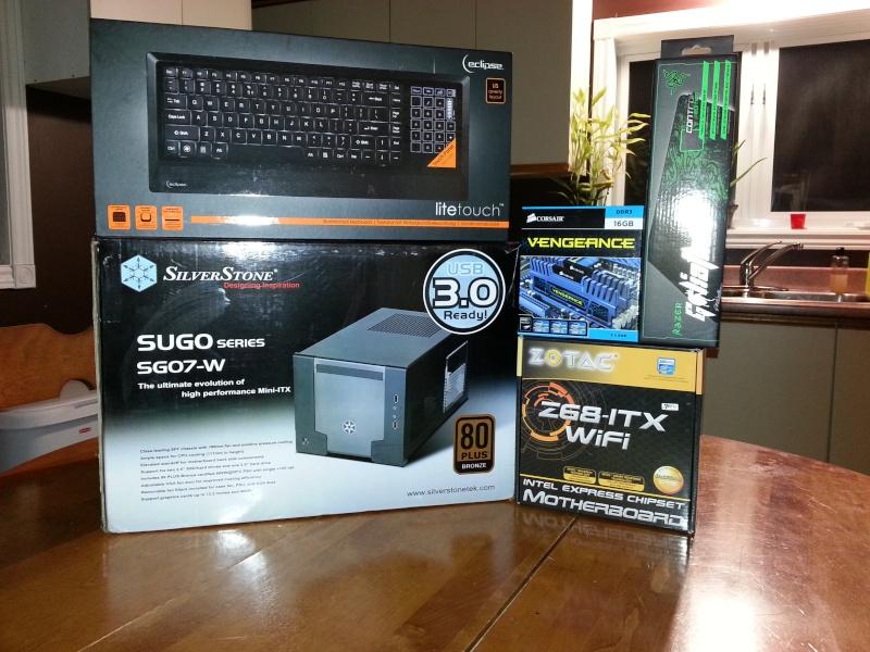 Silverstone SG07 USB3 Mini ITX (True) 14 lbs !! 20121210