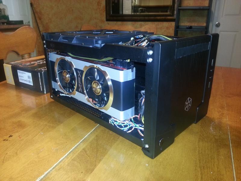 Silverstone SG07 USB3 Mini ITX (True) 14 lbs !! 20121231