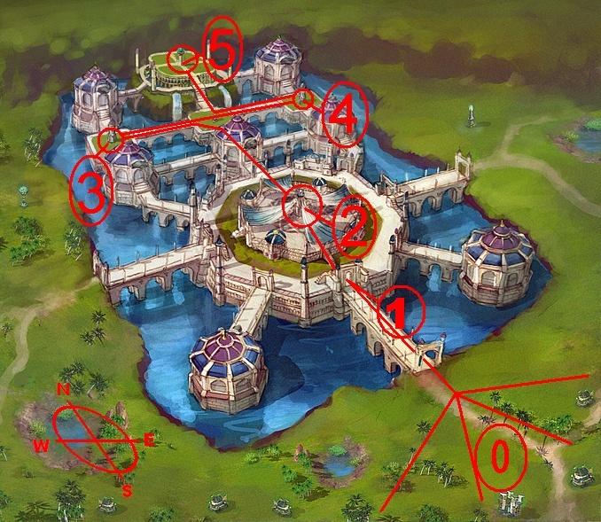 Hotan Fortress War Tactic Map10