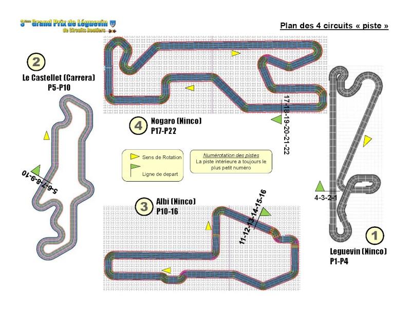 """GPL2010: les circuits de la course d'endurance 12h """"evocation Tour Auto"""" Plan_410"""