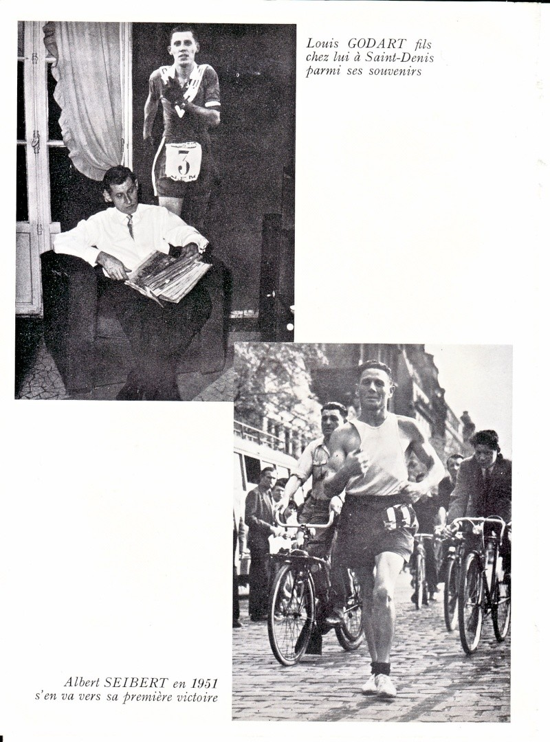 1955  STRASBOURG-PARIS LOUIS GODARD ET QUEMENER Godart11