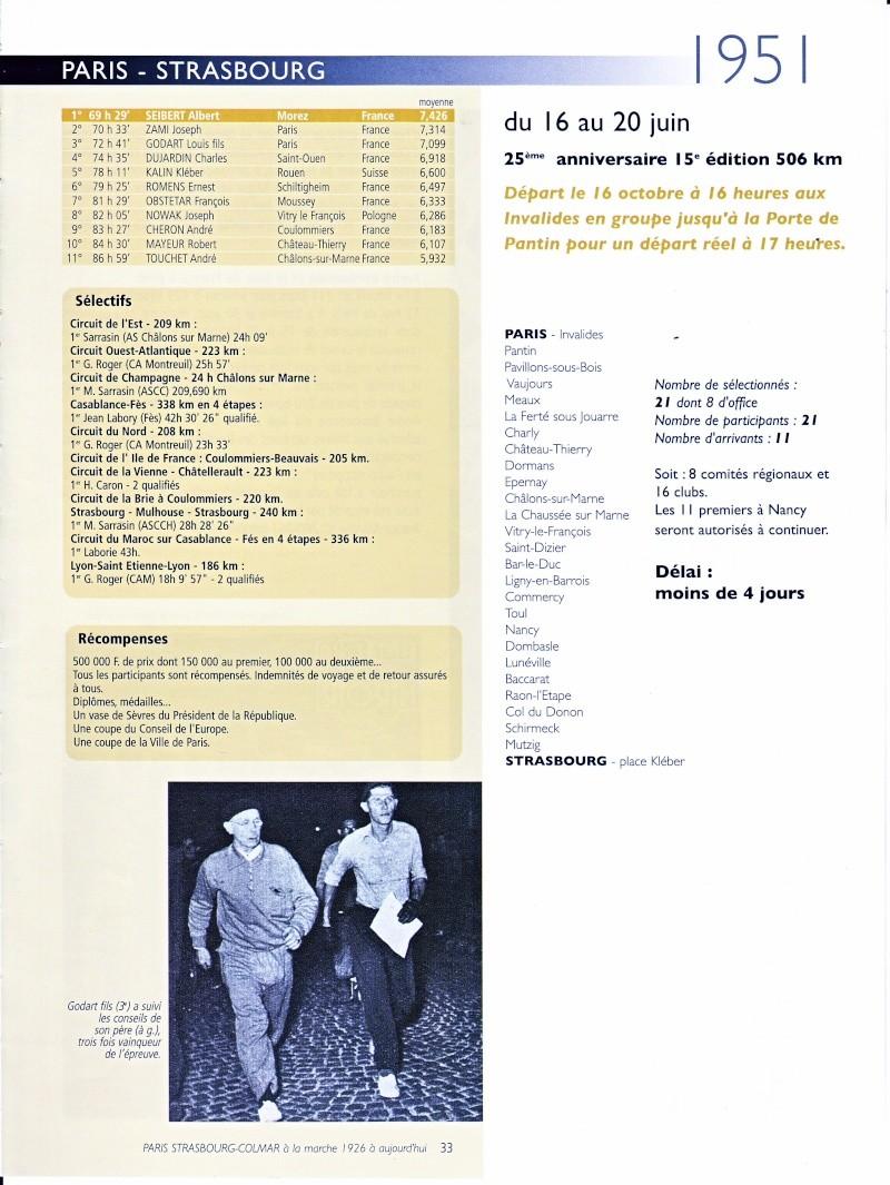 1951  PARIS  -STRASBOURG du  3  Octobre  au  7 Octobre Paris_15