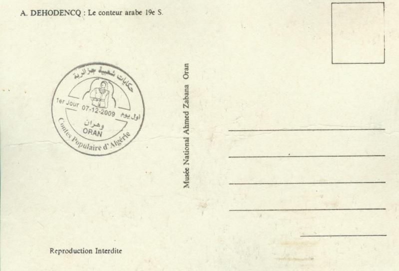 Emission N° 20/2009 Contes populaires d'Algérie Fdc_0015