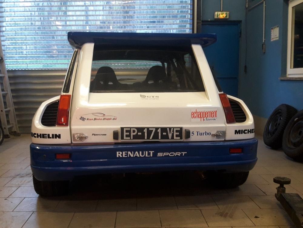 Pas très original, encore une restauration de R 5 turbo - Page 5 Arrizo10