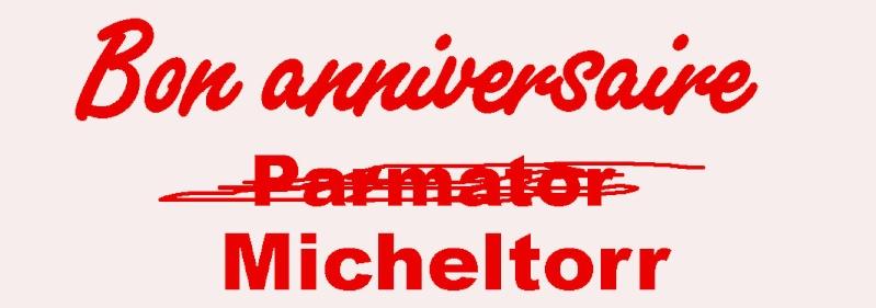 Anniversaire Parmator Michel13