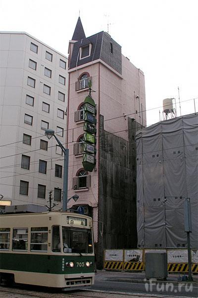 Японские улицы ( метро, дома) 11