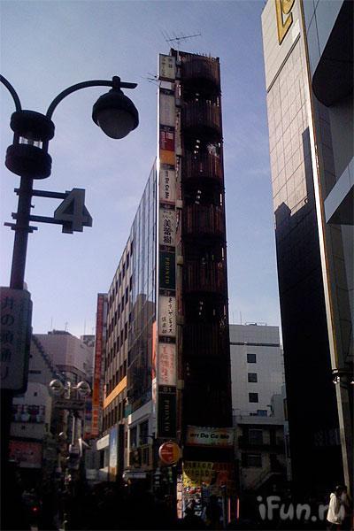 Японские улицы ( метро, дома) 12