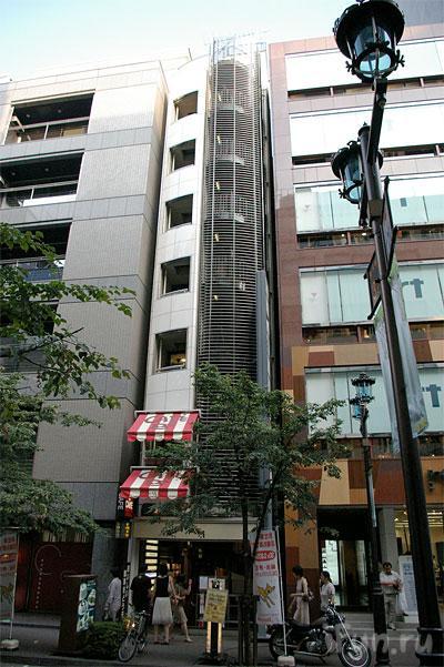Японские улицы ( метро, дома) 14