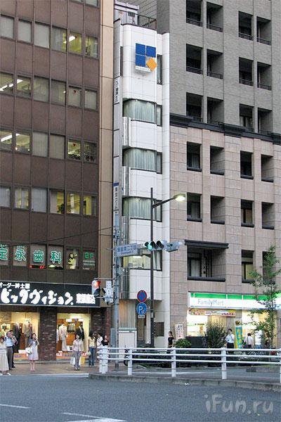 Японские улицы ( метро, дома) 15