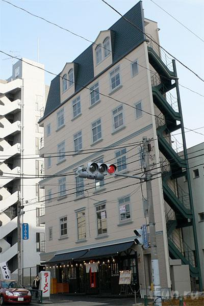 Японские улицы ( метро, дома) 18