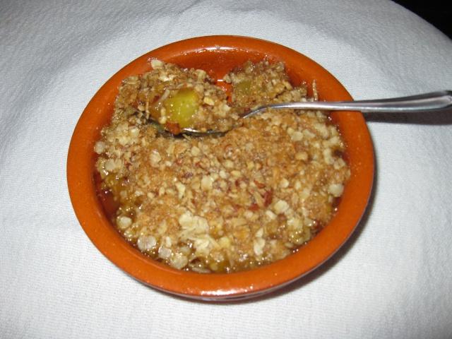 Croustillant à l'ananas et au citron Croust10
