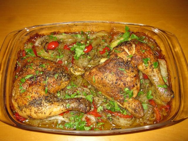 Cuisses de poulet à la catalane Le_pou10