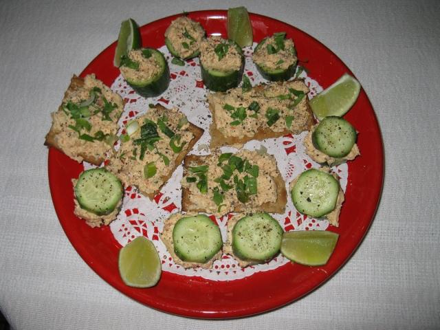 Mousse  (tartinade) de saumon fumé Mousse12