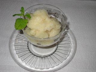 Sorbet au citron (sans sorbetière) Sorbet11
