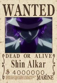 Wanted, renom de Shin Alkar Wanted10