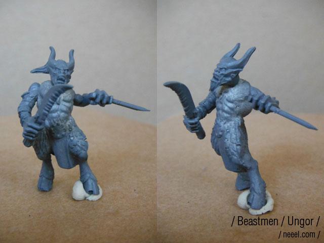 beastmen - Beastmen Raiders Beastm14