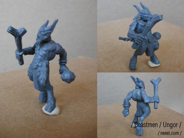 beastmen - Beastmen Raiders Beastm17