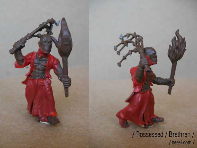 possessed - WIP possessed warband  Brethe14
