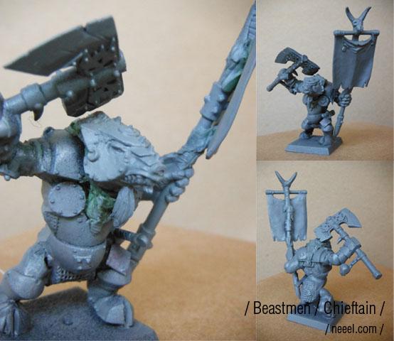 beastmen - Beastmen Raiders Cheift10