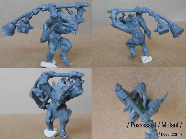 possessed - WIP possessed warband  Mutant12