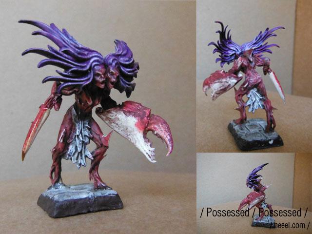 possessed - WIP possessed warband  Posses10