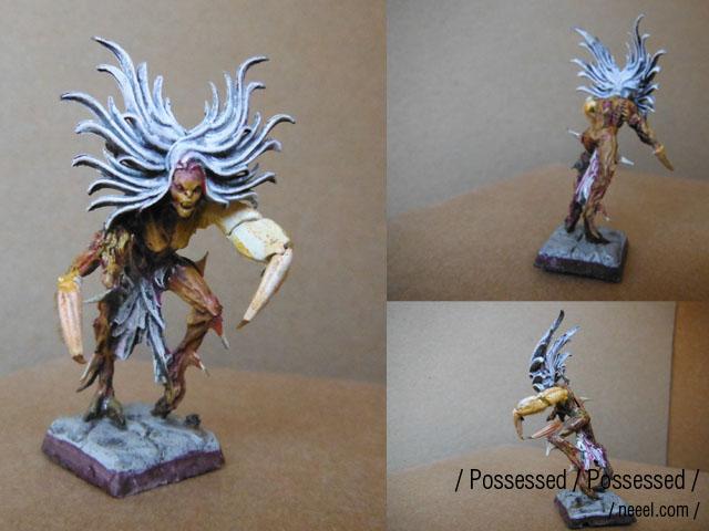possessed - WIP possessed warband  Posses11