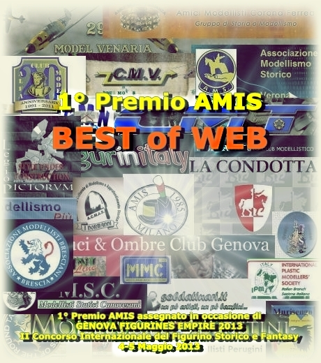 1° Premio AMIS BEST OF WEB Locand10