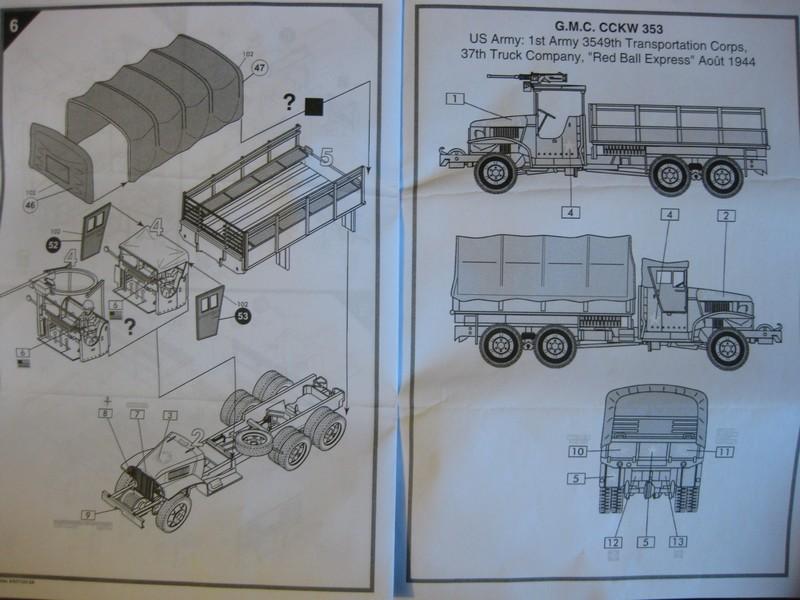 GMC CCKW 353 Truck [Airfix/Heller, 1/72 ] Photo_44
